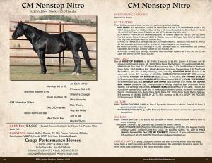 CM Nonstop Nitro Poster
